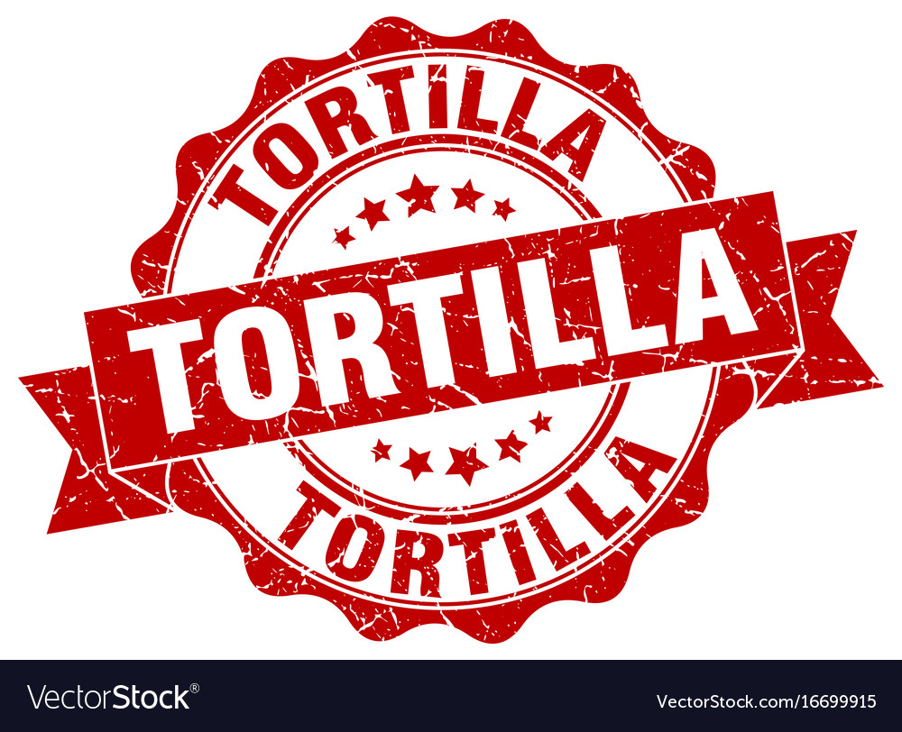 Tortilla stamp sign seal