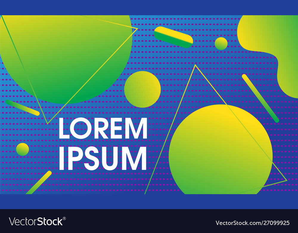 Modern geometrical trendy background design
