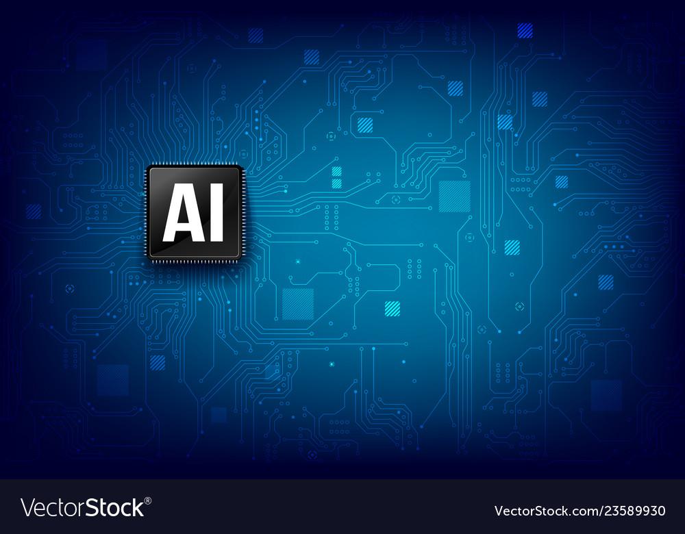 Ai artificial intelligence technology cpu chipset