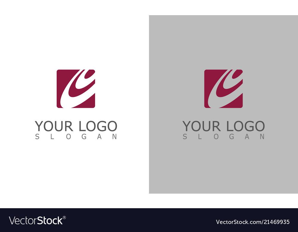 Square circle company logo