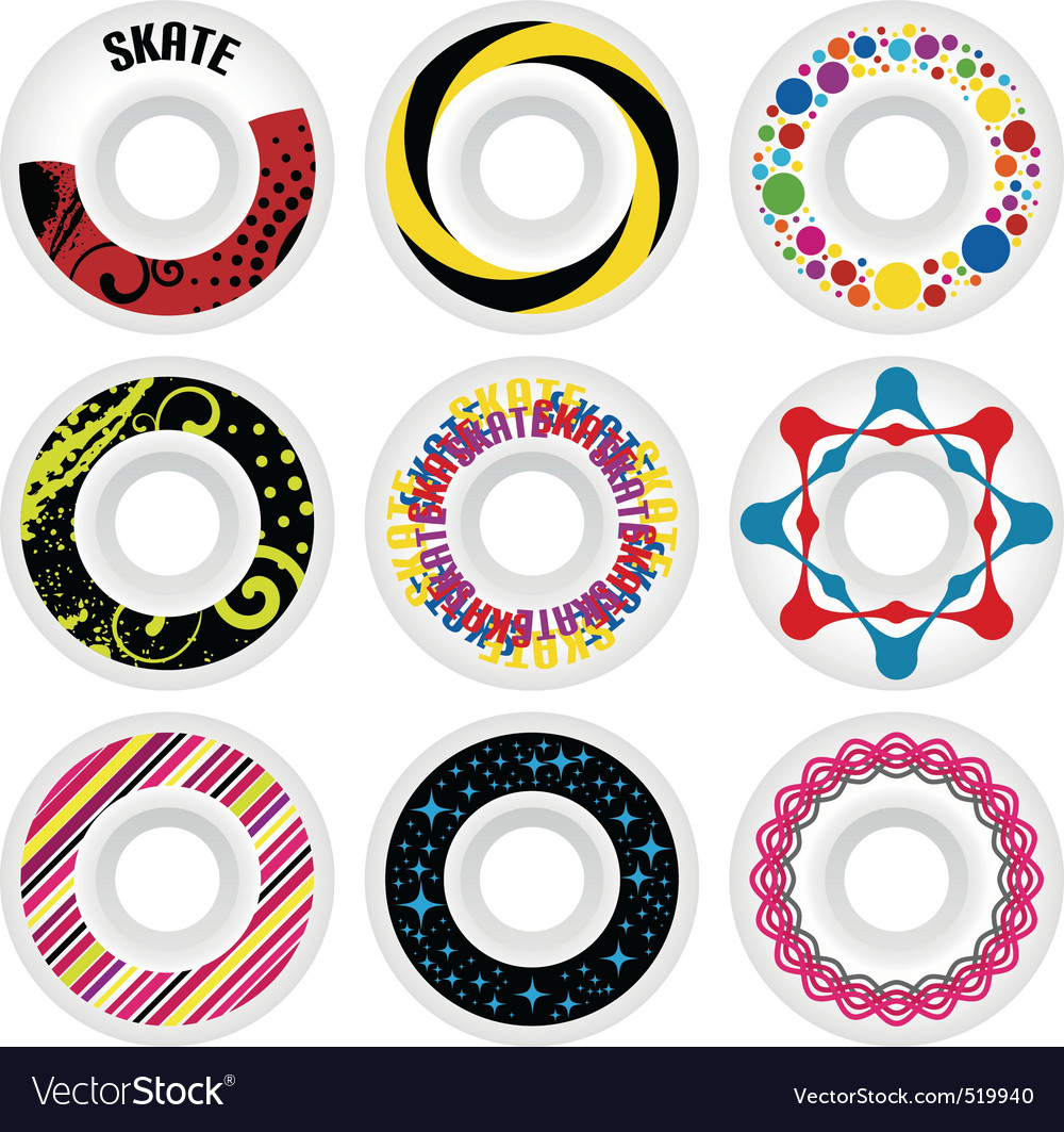 Design skate wheels