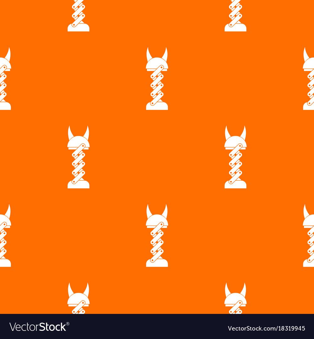 Mechanic pattern seamless vector image
