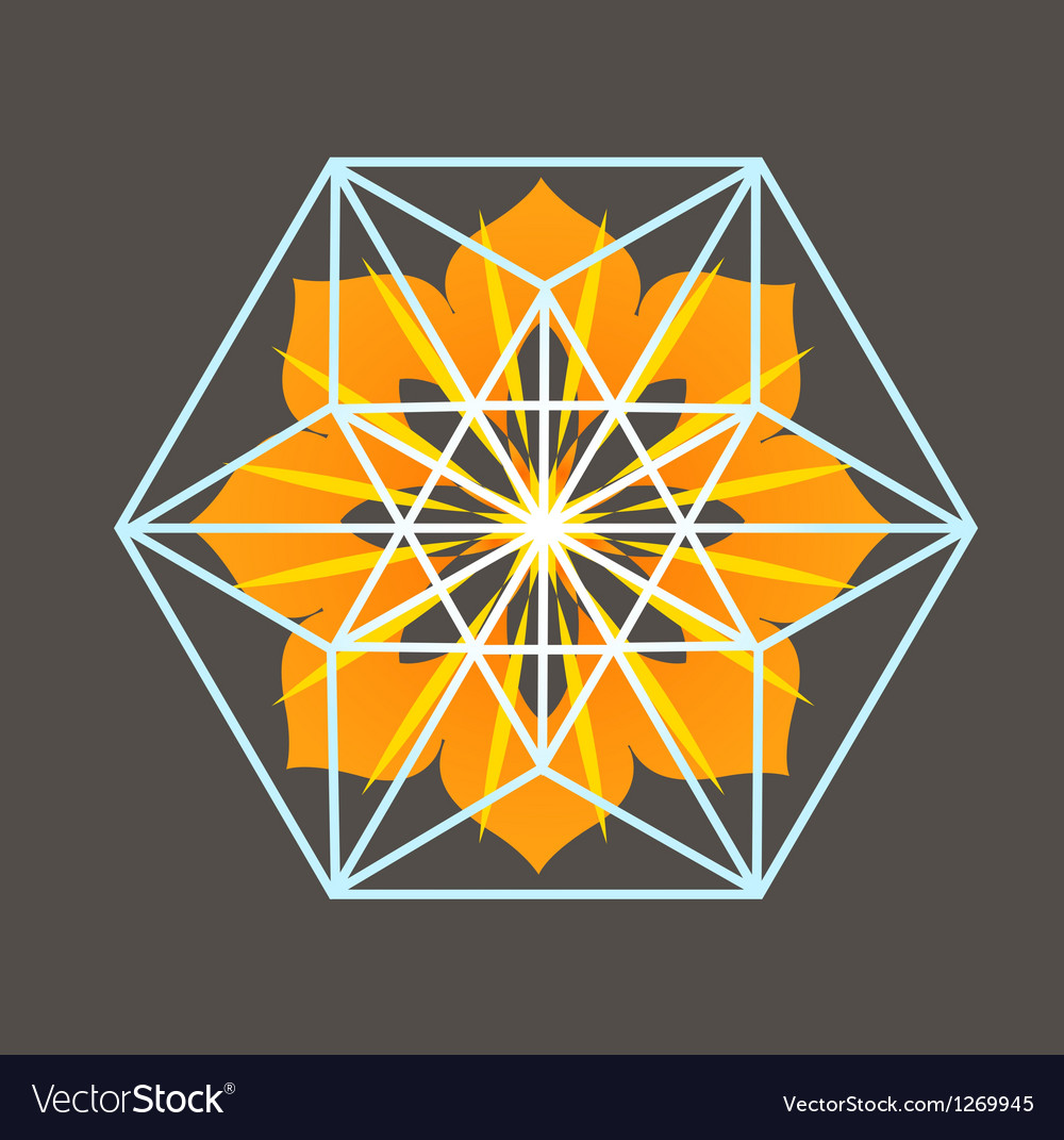 Star Tetrahedron print
