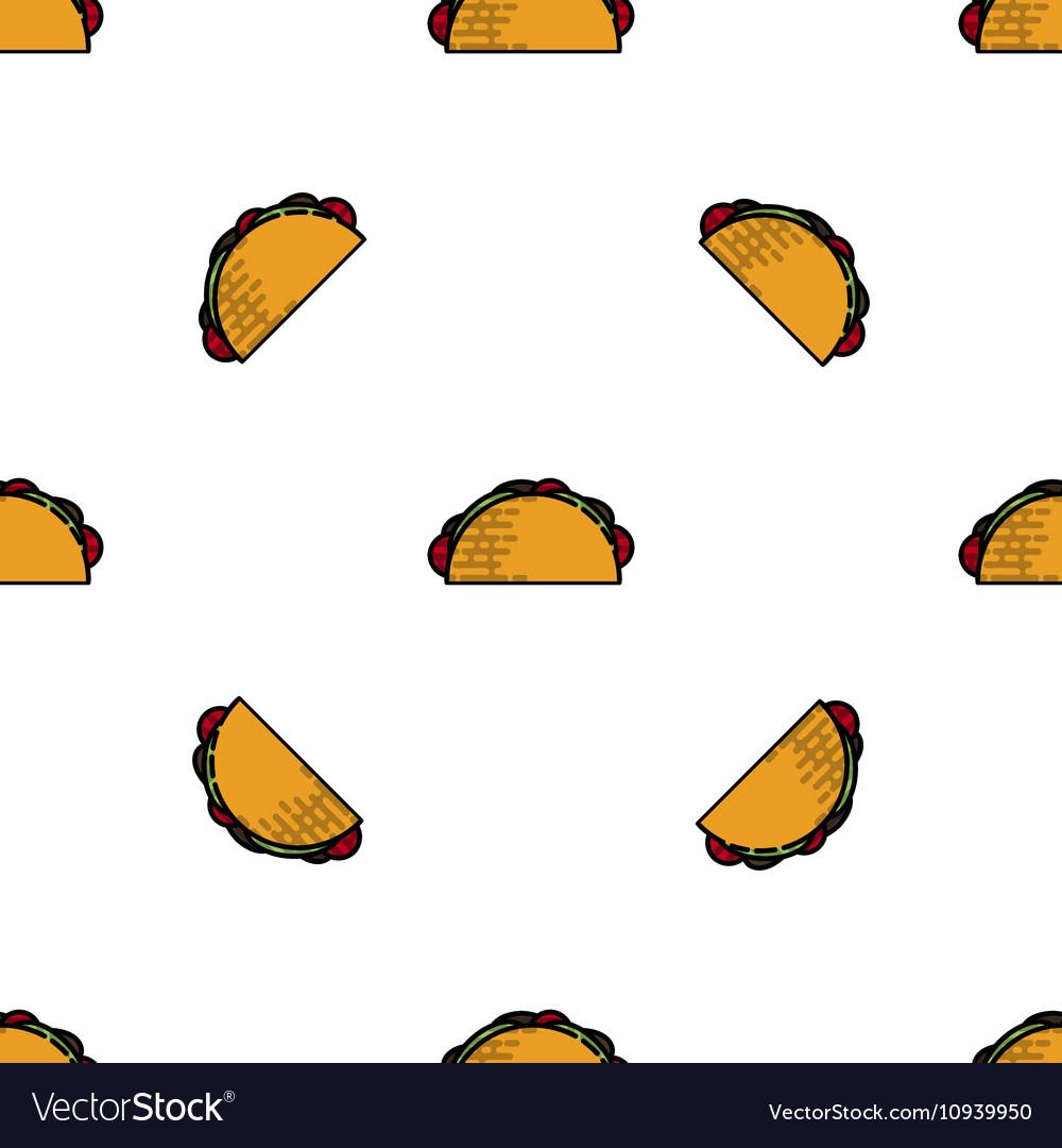 Tacos flat pattern