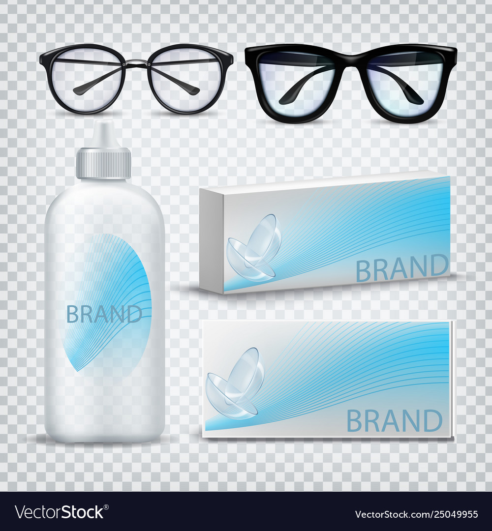 Optical glasses and contact lenses set