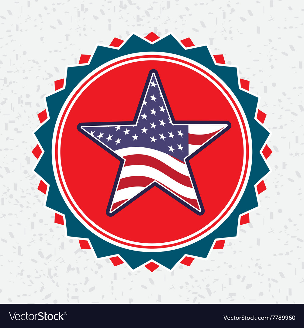 Usa emblem design