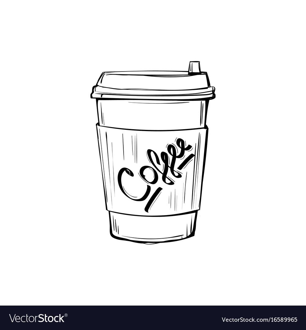 Coffee Cup Vector Coffee Drinker