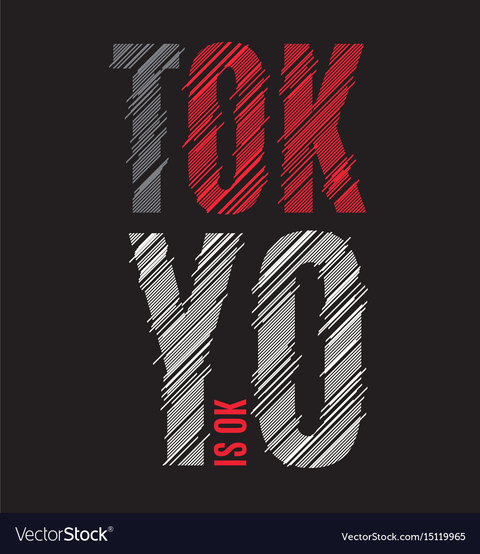 Tokyo tee print t-shirt design graphics stamp