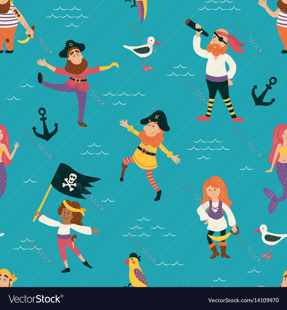 Pirates pattern