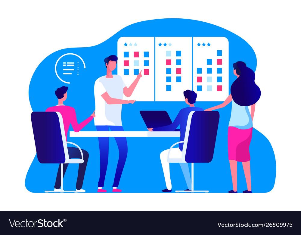 Agile management team business team