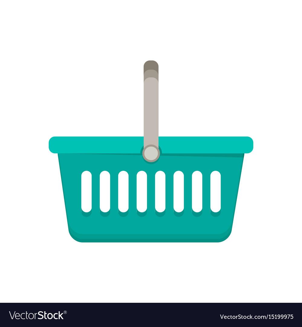 Shopping basket flat