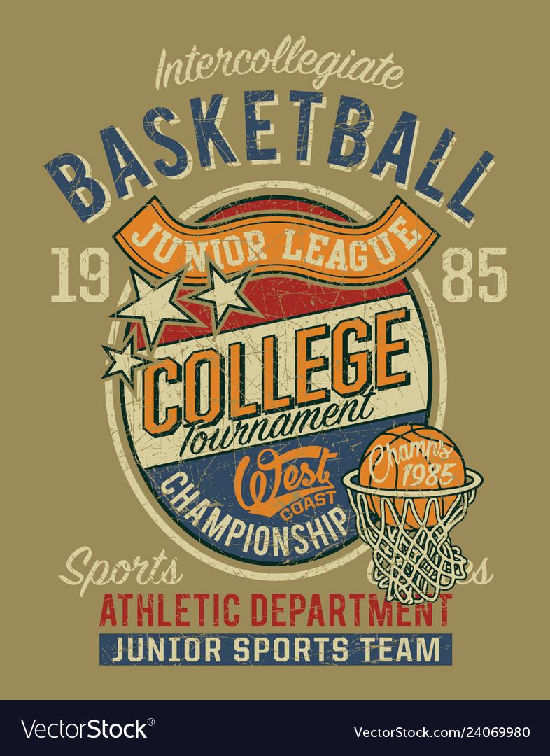 College basketball championship junior league