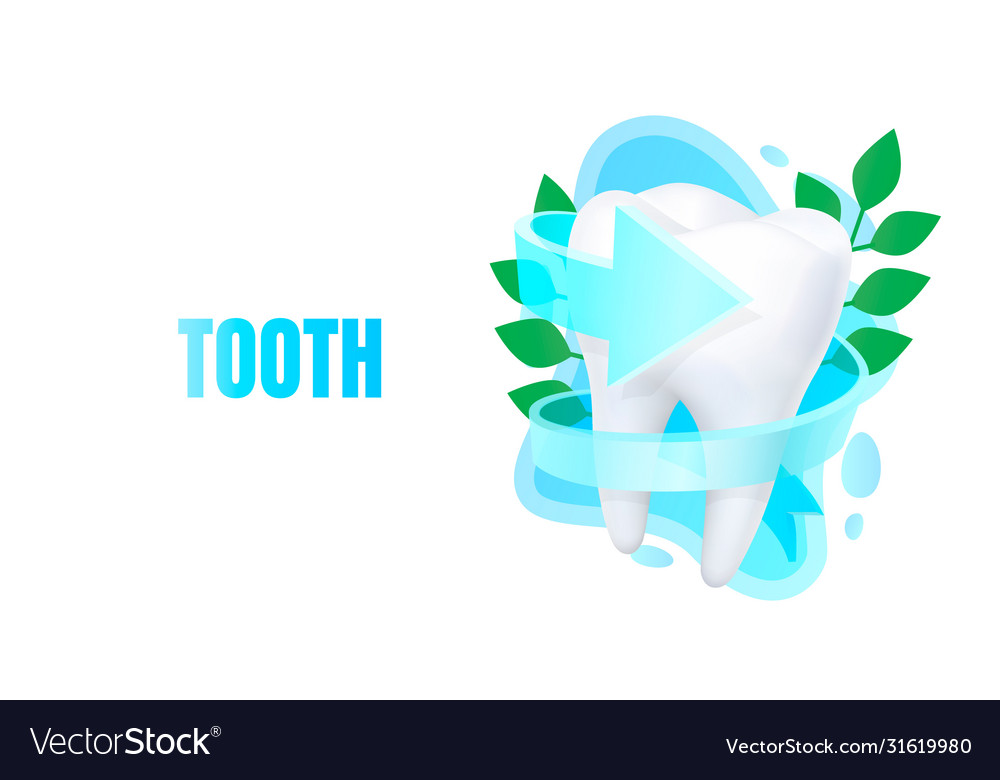 Medical tooth banner alternative treatment
