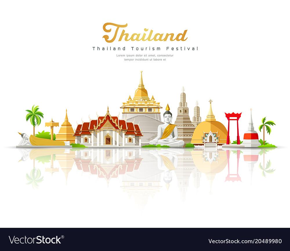 Thailand tourism festival building landmark