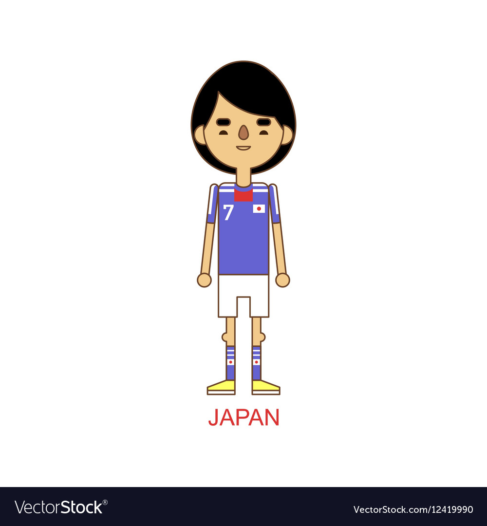 National japan soccer football player