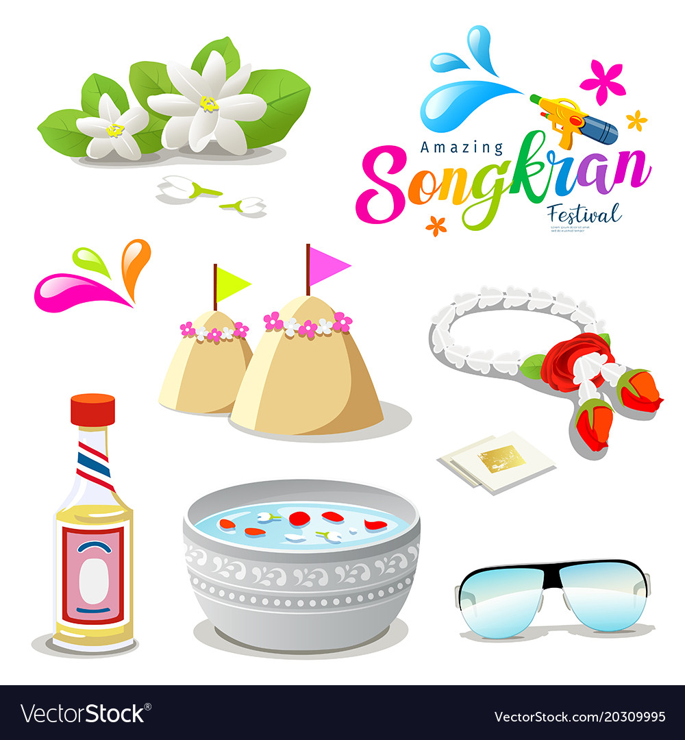 Amazing thailand songkran festival collections