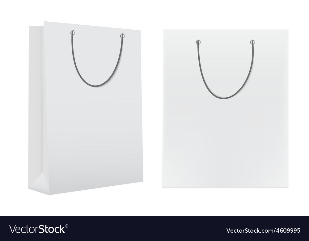Shopping Bag Template for Advertising and Branding
