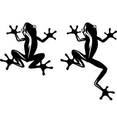 wzory tatuaży, żaby