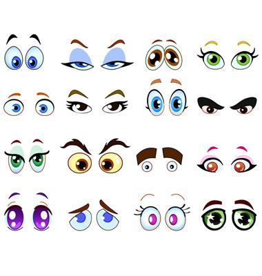 cartoon eyes drawing. hair Cartoon Eyes | Drawing