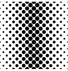 abstract monochrome dot pattern - geometrical vector image