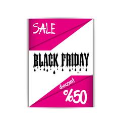 Black friday flyer template eps file vector