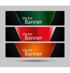 Collection banner design background vector