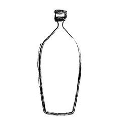 Empty plastic bottle vector