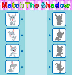 Find the correct shadow of the rabbit vector