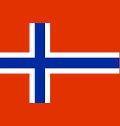 flag rectangular shape vector image