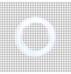 Glowing light circle vector