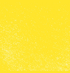 grunge yellow background vector image