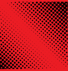 halftone red and black dot background good for vector image