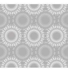 Lace Ornate Seamless Pattern vector image