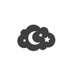 night icon images vector image
