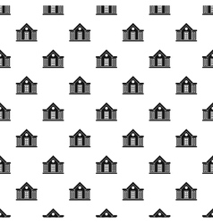 Old house pattern simple style vector