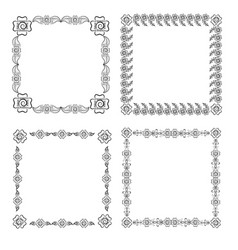 patterns from elements of a list vector image