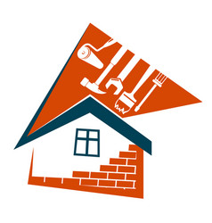 Repair and maintenance of buildings vector