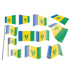 Saint Vincent and the Grenadines vector image