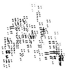 Sand swarm icon vector