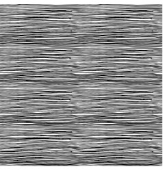 simple pattern of horizontal hatching grunge vector image