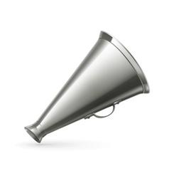 Vintage megaphone vector