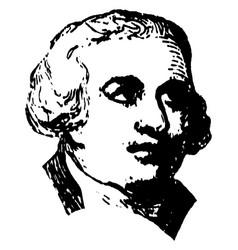 george walton vintage vector image