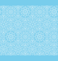 Abstract snowflakes background vector