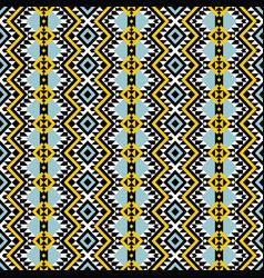 american indian aztec ethnic tribal seamless vector image