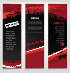 automotive tire banner vector image