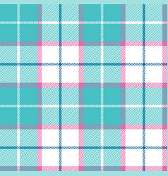 Bablue pink pastel color plaid seamless vector