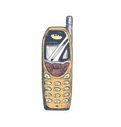 bar phone vector image