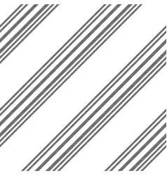 black white diagonal lines seamless pattern vector image