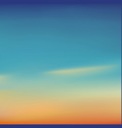 blurred background beautiful natural sunrise or vector image