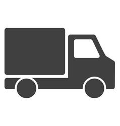delivery car flat icon symbol vector image